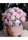 Коробка с розовы зефиром